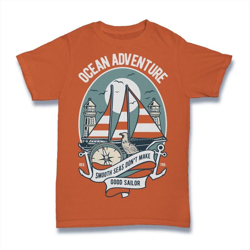 Ocean Adventure tshirt factory