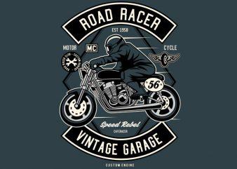 Road Racer t shirt design online