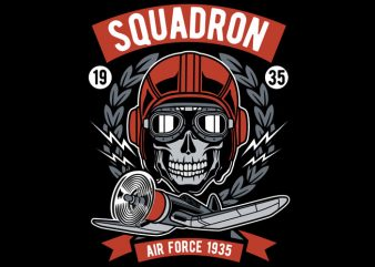 Squadron Air Force t shirt design to buy