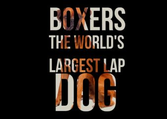 boxer dog typo buy t shirt design for commercial use