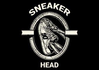 Sneaker Head Tshirt
