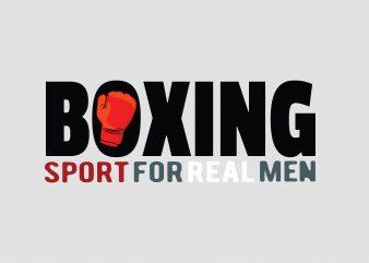 Boxing Tshirt Design