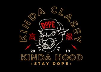 kinda cool kinda hood buy t shirt design