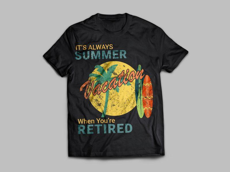 Summer Vibes T-Shirt t shirt designs for sale
