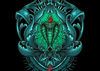 cobra tshirt design