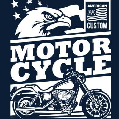 AMERICAN CUSTOM t shirt design for purchase