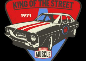 KING OF THE STREET t shirt design to buy