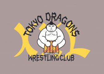 Tokyo Dragon t shirt designs for sale