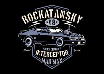 Interceptor design for t shirt