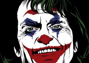 The Joker tshirt design for sale