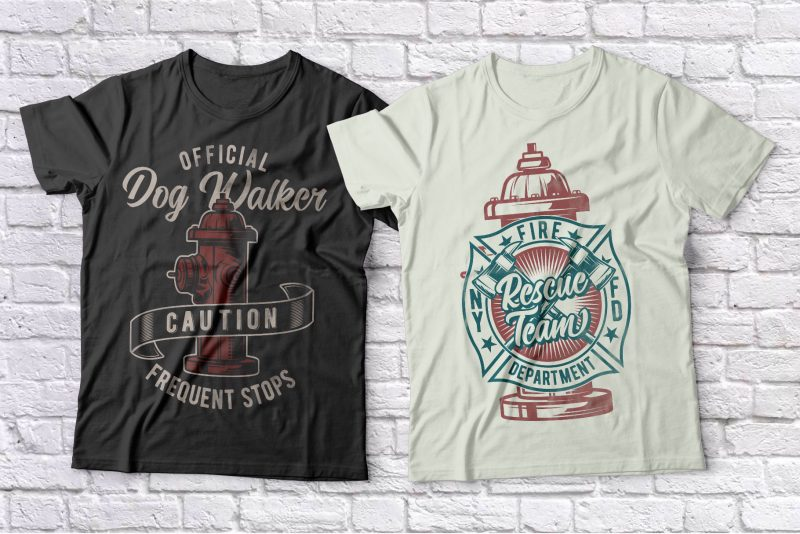 T-Shirts Bundle 3. Vector T-Shirt Designs