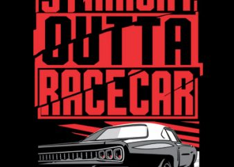 RACECAR commercial use t-shirt design