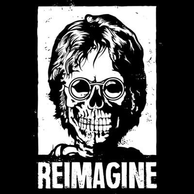 REIMAGINE t shirt design online
