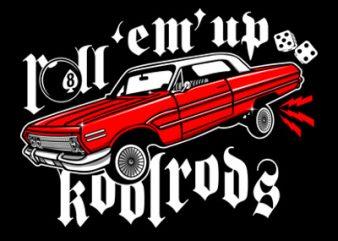 KOOLRODS tshirt design for sale