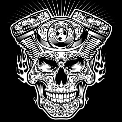 MACHINE HEAD vector t-shirt design for commercial use