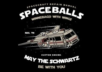 Space Balls t shirt design for purchase