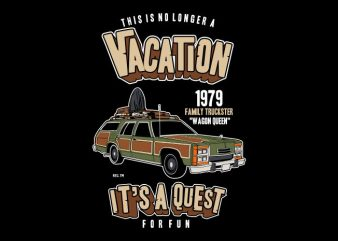 Vacation vector t-shirt design