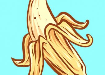 banana tshirt design