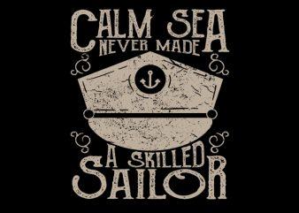 Sailor Club Vector T-Shirt Design