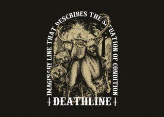 deathline t-shirt design