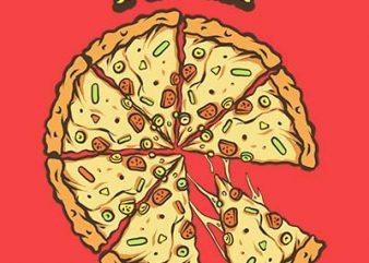 pizza shirt design