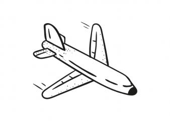 plane airplane aeroplane tshirt design vector