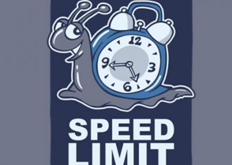 SPEED LIMIT buy t shirt design for commercial use