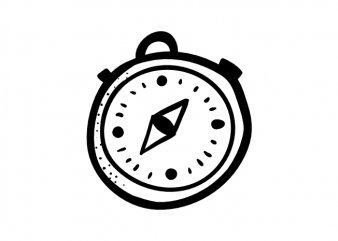 stop watch time t shirt template vector