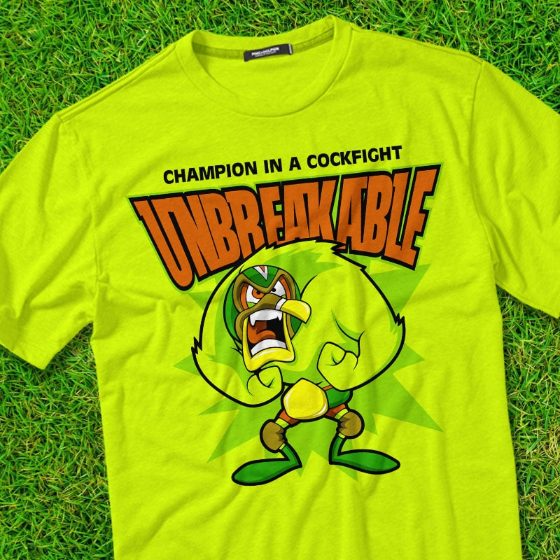 UNBREAKABLE t shirt designs for teespring