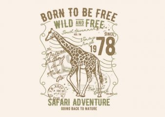 Born To Be Free Wild And Free buy t shirt design artwork