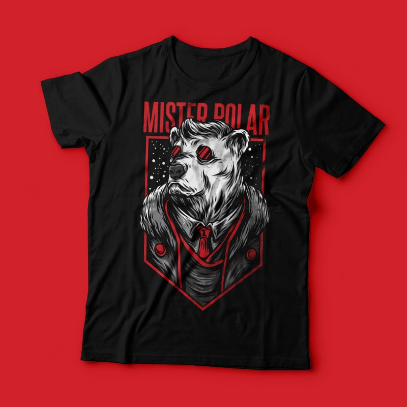 Mister Polar T-Shirt Design buy t shirt design