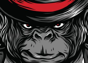 Bloody Ape T-Shirt Design