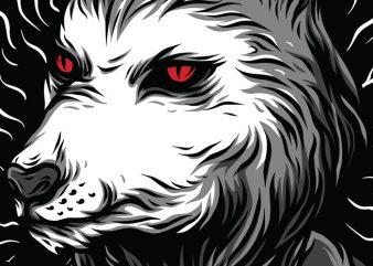 Psycho Beast T-Shirt Design