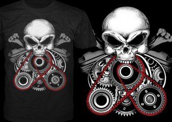 Inside Engine t shirt design for sale