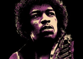 HENDRIX t shirt design to buy