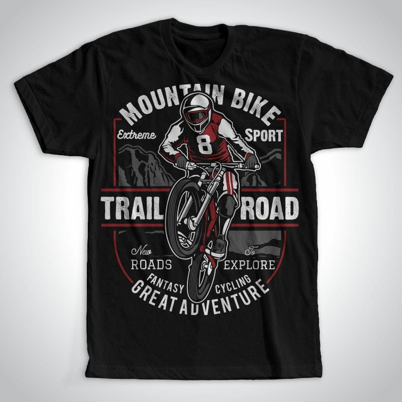 Mountain Bike tshirt-factory.com