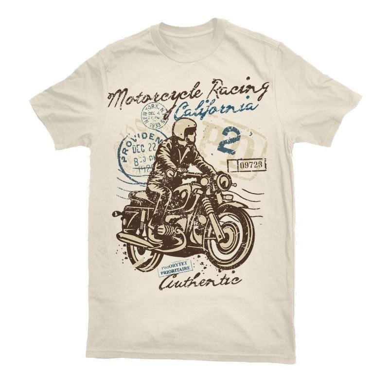 Motorcycle Racing t shirt designs for printful