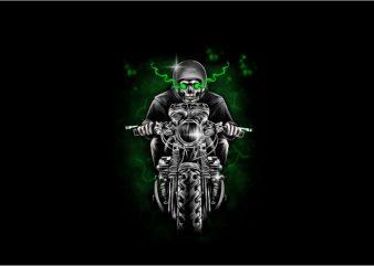 Phantom Rider t shirt illustration