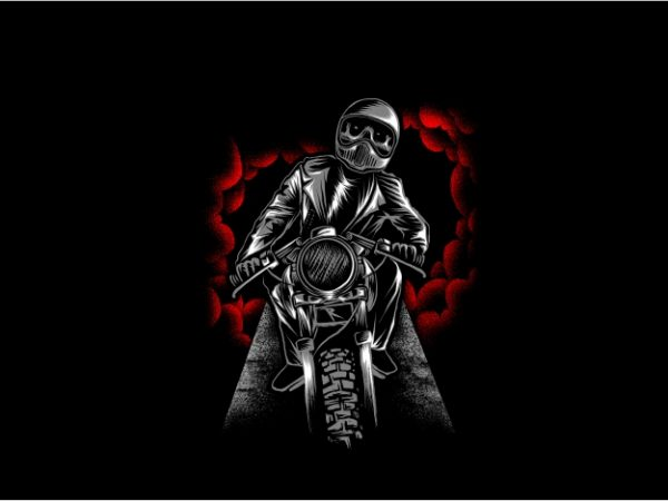 Ride to Hell t shirt design online