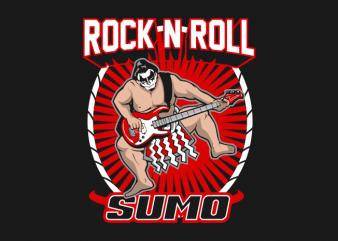 Rock n Roll Sumo buy t shirt design