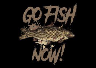 go fish Vector t-shirt
