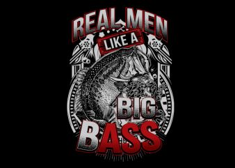 big bass 2 Vector t-shirt design
