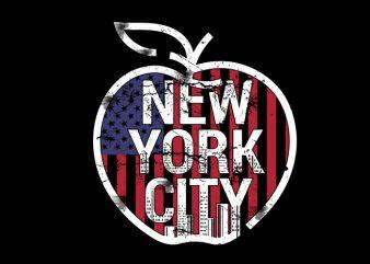 big apple Vector t-shirt design