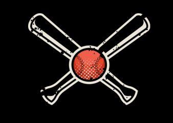 Vintage Baseball Vector t-shirt