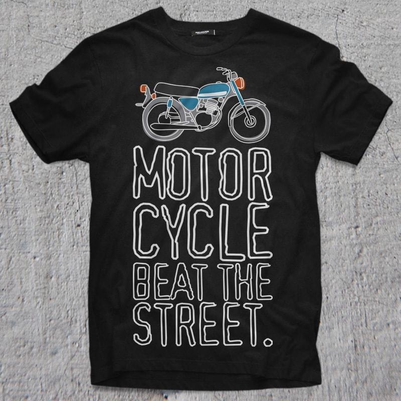 BEAT STREET t shirt designs for printful