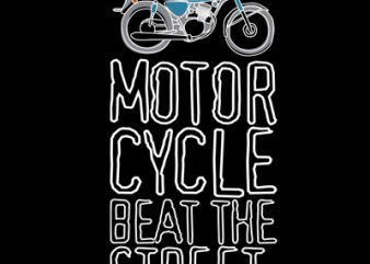 BEAT STREET vector t shirt design for download