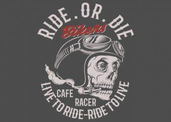 bikers vector t-shirt design