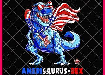 Amerisaurus-rex Tshirt | America Saurus USA Flag 4th of July Vintage Design PNG T shirt