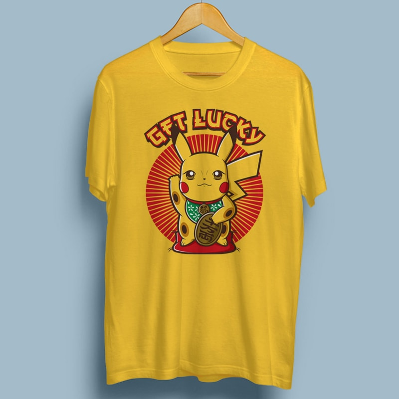GET LUCKY tshirt-factory.com