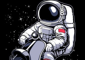 astronaut scooter buy t shirt design